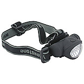 Yellowstone 8 + 2 LED Mini Head Torch