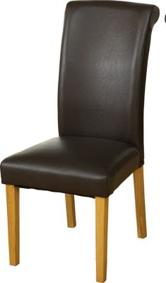 Home Essence Dunoon Faux Leather Dining Chair (Set of 2)