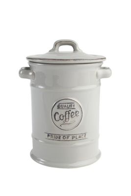 T&G Woodware Pride of Place Coffee Storage Jar in Cool Grey 18091