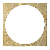 The Real Paving Company Cotswold Circle Squaring Off Kit, York Gold 2.4M