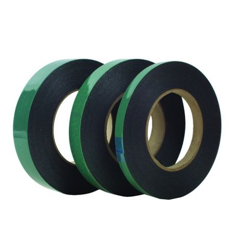 Double Sided Foam Adhesive Tape 12mm X 10M Roll Black