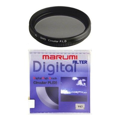 Marumi DHG Circular Polarising Filter 40mm (DHG40CIR/S)