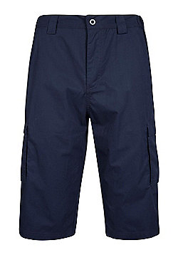 Mountain Warehouse Trek Mens Long Short - Blue