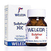 Weleda Sulphur 30 Homeopathic Medicine 125 Tablets