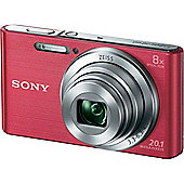 Sony DSC-W830P Compact Camera with 8x Optical Zoom, Pink