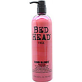 Tigi Bed Head Dumb Blonde Reconstructor Conditioner 750ml - Highlights + Damaged + Chemically Treated