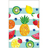 Fruit Salad Plastic Tablecover - 1.3m x 2.4m