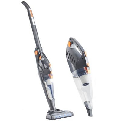 buy vonhaus folding vacuum cleaner 2 in 1 cordless stick 22 2v battery and retractable handle. Black Bedroom Furniture Sets. Home Design Ideas