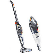 VonHaus Folding Vacuum Cleaner 2 in 1 Cordless Stick - 22.2V Battery - 180° Swivel Steering System & Retractable Handle & Back Saving Feature