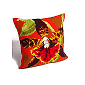 Collection D Art Tiger Orchid Cushion Kit