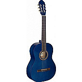 Stagg C440 Full Size Classical Guitar - Blue - with 6 Months Free Online Lessons