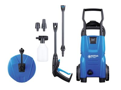 Kew Nilfisk Alto C110.7-5 PC X-TRA Pressure Washer With Patio Cleaner 110 Bar 240V