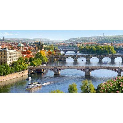 Vltava Bridges in Prague - 4000pc Puzzle