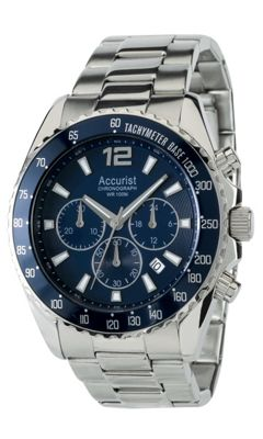 Accurist Gents Chronograph Bracelet Watch MB936NN