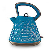 Morphy Richards 108104 Prism, Cordless Kettle, with 1.5L Capacity, in Blue