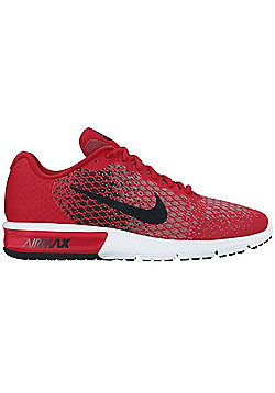 Nike Men's Air Max Sequent 2 Running Shoe - University Red - Red