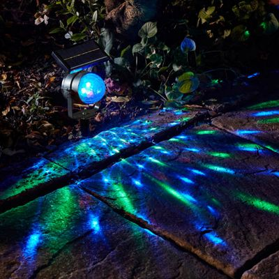 Smart Solar Colour Changing Carnival Spotlight