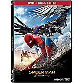 Spider-Man: Homecoming Premium 2 Disc Dvd Including Comic