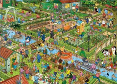 Jan Van Haasteren - The Vegetable Garden - 1000pc Puzzle