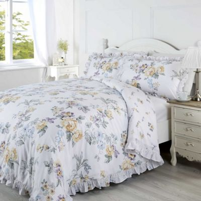 Rapport Ashleigh Lemon Duvet Cover Set - Single