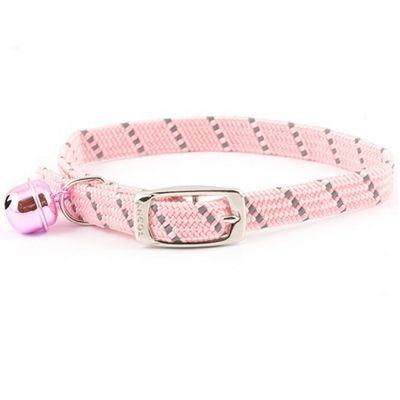 Ancol Acticat Softweave Reflective Cat Collar - Pink