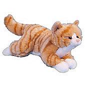 Dowman 26cm Ginger Cat Plush Soft Toy