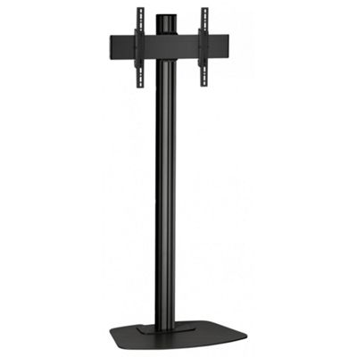 Vogels F2044B Single Pole Floor Stand For up to 65 inch TVs - 2.0m - Black