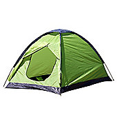 North Gear Camping Scott Waterproof 2 Man Dome Tent Green
