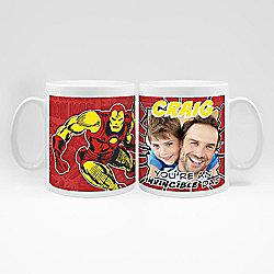 Marvel Personalised Father's Day Iron Man Photo Mug