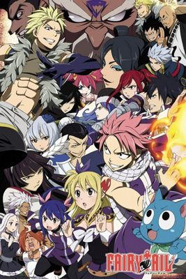 Fairy Tail Season 6 Poster 61x91.5cm