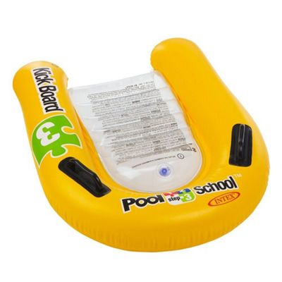 Intex 1-2-3 Pool School Inflatable Kick Board Float Swimming Aid - 58167
