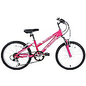 "Ammaco Sienna Girls 20"" Wheel Alloy Front Suspension Bike"