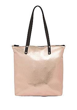 F&F Metallic Tote Bag