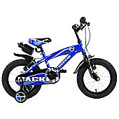"Hacker Boys 14"" Wheel Mountain Bike Blue"