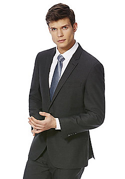 F&F Regular Fit Suit Jacket - Charcoal