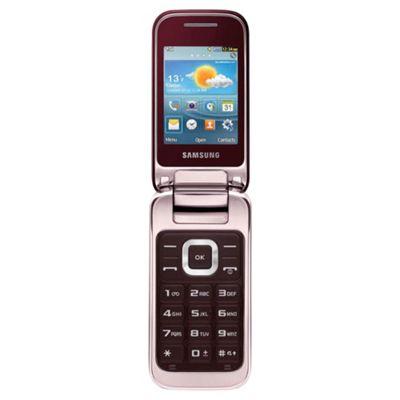 Tesco Mobile Samsung C3590 Red