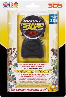 Datel Action Replay Power Saves (PAL UK Euro Version) - Nintendo3DS