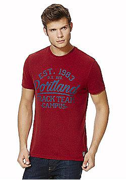 F&F Collegiate Portland T-Shirt - Red