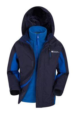 Mountain Warehouse Cannonball 3 in 1 Kids Waterproof Jacket ( Size: 11-12 yrs )