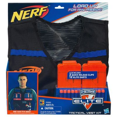 Nerf Gun N-Strike Tactical Vest Kit