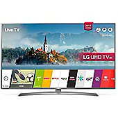 LG UJ670V  Inch 4K Ultra HD HDR Smart LED TV with Freeview Play - Grey