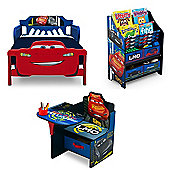 Delta Children Cars 3 Bedroom Set 7 - Blue