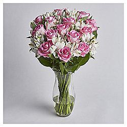Rose & Alstromeria Abundance Large