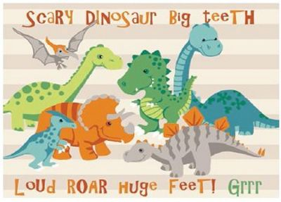 Natural Dinosaur Canvas Wall Art 40 x 50 cm  sc 1 st  Tesco & Buy Natural Dinosaur Canvas Wall Art 40 x 50 cm from our Pictures ...