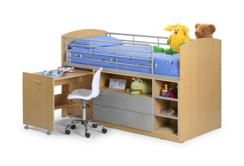 Julian Bowen Leo Cabin Sleeper Bunk Bed