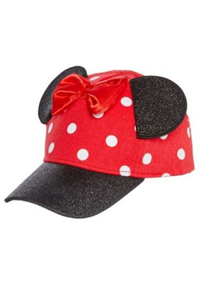 Disney Minnie Mouse Cap Red 7-10 years