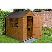Forest Garden Overlap Dip Treated 7x5 Apex Shed