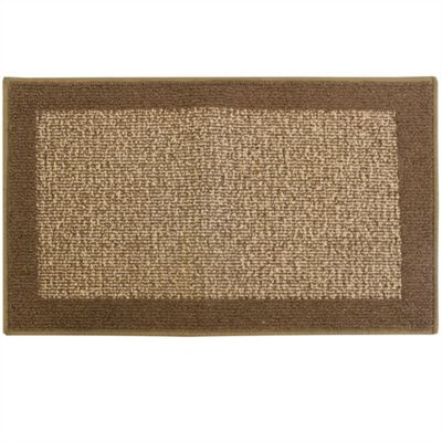 Madras Beige/Brown Door Mat 40x70cm