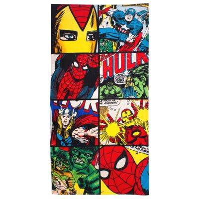 Marvel Comics Defenders Beach Towel