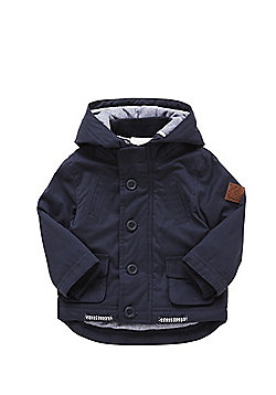 F&F Padded Fisherman Jacket - Navy